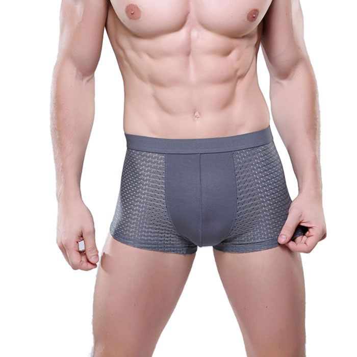 Brand new Boxer Hot Men's Underwear Underpants modal Sexy Mesh Breathable For men