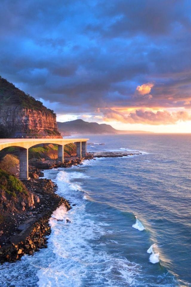 Sea Cliff Bridge. Northern Illawarra, New South Wales ...