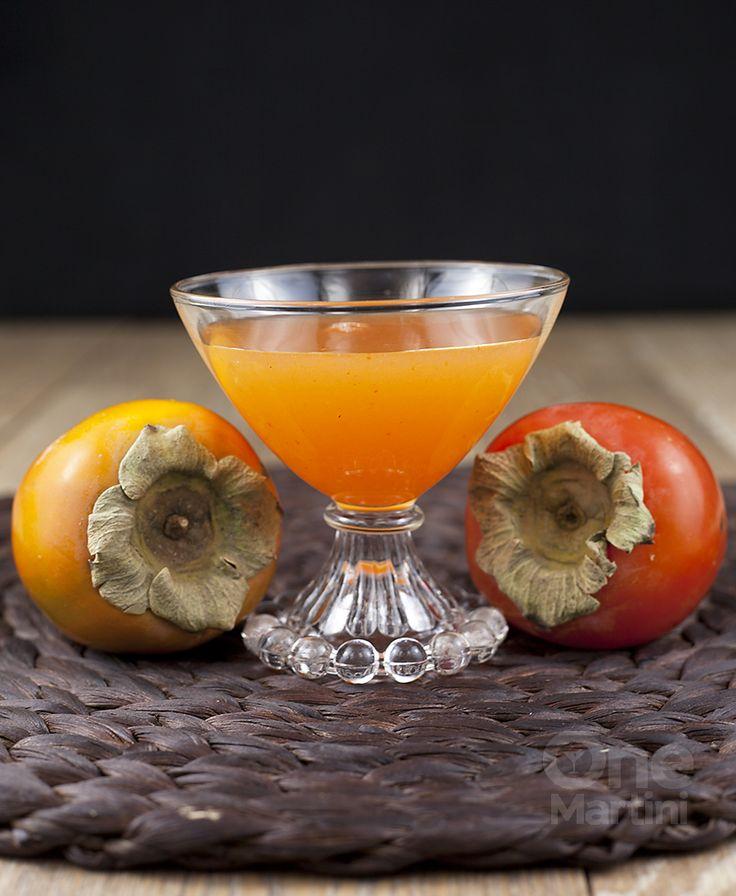 vodka persimmon cocktail recipe