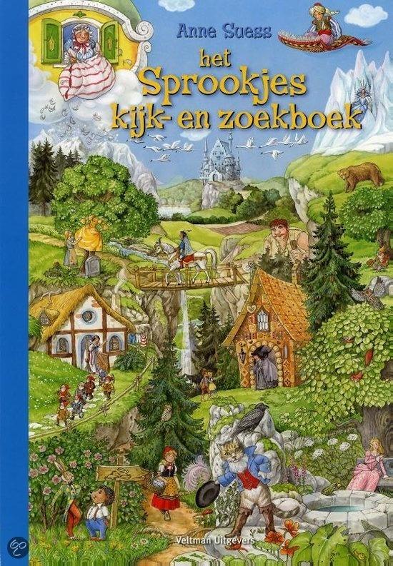 bol.com | Het sprookjes kijk- en zoekboek, Lisa Maurer & Anne Suess | Boeken
