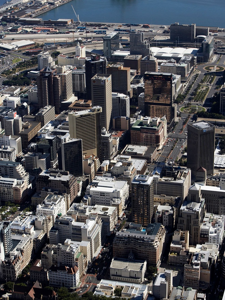 Cape Town CBD... Wale street though to the Financial District on the Foreshore.