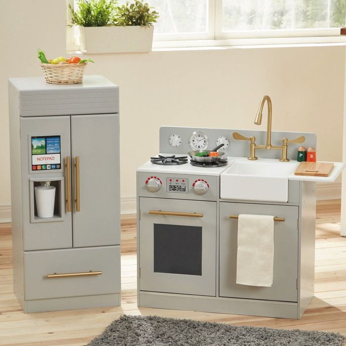 25 unique play kitchen sets ideas on pinterest girls for Play kitchen designs