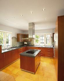 aranżacja wnętrz - Wykorzystano oprawę  MR16 SP 112098 /oświetlenie kuchni/