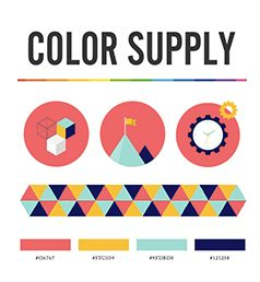 Inspirational color palettes from designers & illustrators around the world.