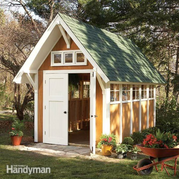 how to build a ramp for a storage shed