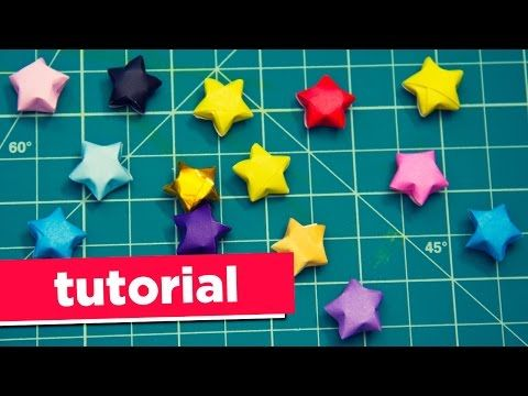 How to Make Fantastic Origami Paper Stars! | diyplay