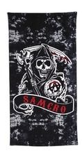 Sons of Anarchy® Beach Towel from Sears Catalogue  $19.99