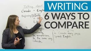 Learn English with Emma [engVid] - 6 ways to compare YouTube