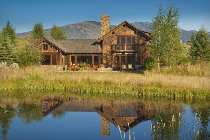 17 best images about cabin exteriors on pinterest for Cabin rentals in jackson hole wy