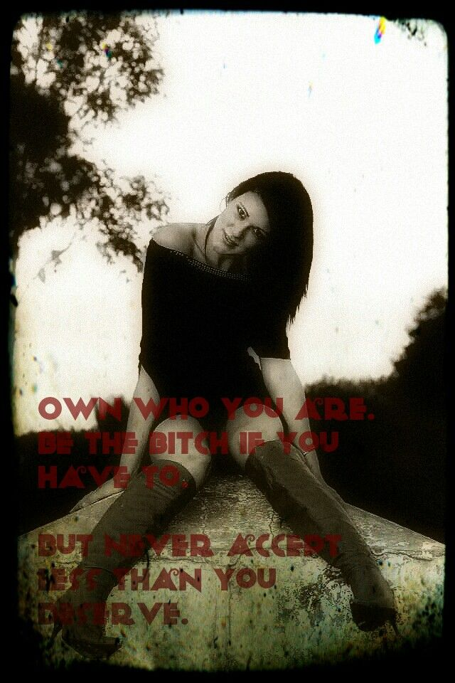 Own who you are! Always