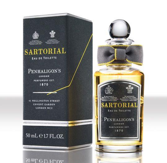 Sartorial fragrance. Designed by jkr