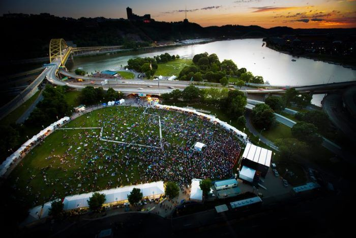Mark your calendar for the Three Rivers Arts Festival, a massive 10 day free festival, scheduled for June 2 through June 11, 2017.