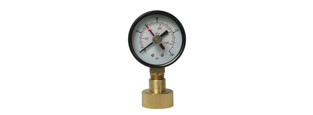 Water Test Gauge  Residential and commercial pressure testing of gas and water lines