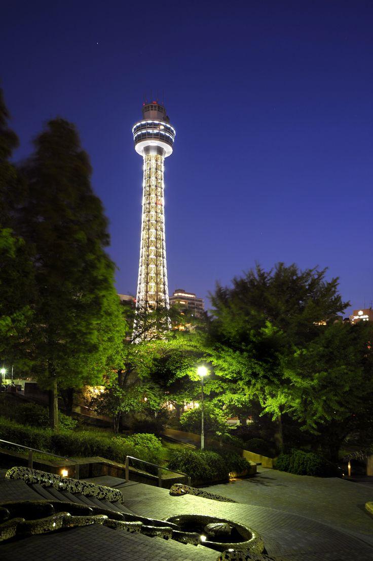 マリンタワー 山下公園 元町中華街 みなとみらい 夜景 横浜