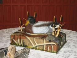 "Chad said "" i want it"" Duck Hunting Cake"