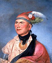 Portrait of Joseph Brant by Charles Willson Peale (1797) - Wikipedia