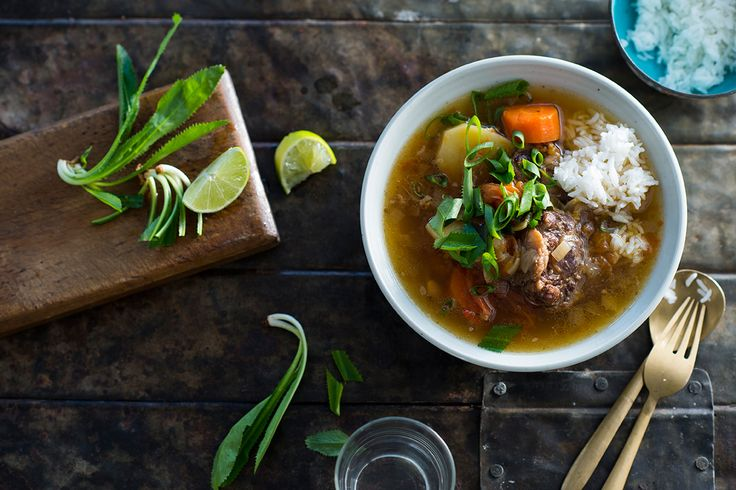Just try this soup in Bangkok and if you're not as intrigued by all of this culinary history as I am, you'll at least love the soothing, home-style flavour of it – not to mention those sticky, soft bits of oxtail.