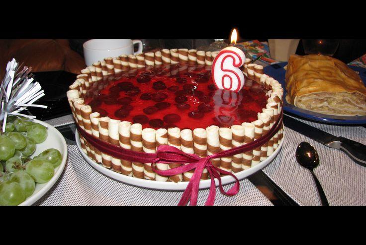Mascarpone cake for my son / 6 months