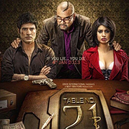 TABLE NO 21/MASA 21: Sonu farklı güzel bir Bollywood sineması. Oyuncu performansları düşük bir seyir izlese de konusu özgün. Fijiye tatile giden bir hint çiftin masa 21 adlı hayatlarını ve psikolojilerini etkileyecek bir oyuna katılmaları ve her doğru cevapta başka olaylarla yüzleşmeleri üzerine bir film.  Yine 3 İdiots Her Çocuk Özeldir My Name Is Khan gibi mesaj veren bir hint filmiyle karşı karşı karşıyayız.  Film toplum tarafından ezilen ve aşağılanan bireylerin psikolojisinde meydana…