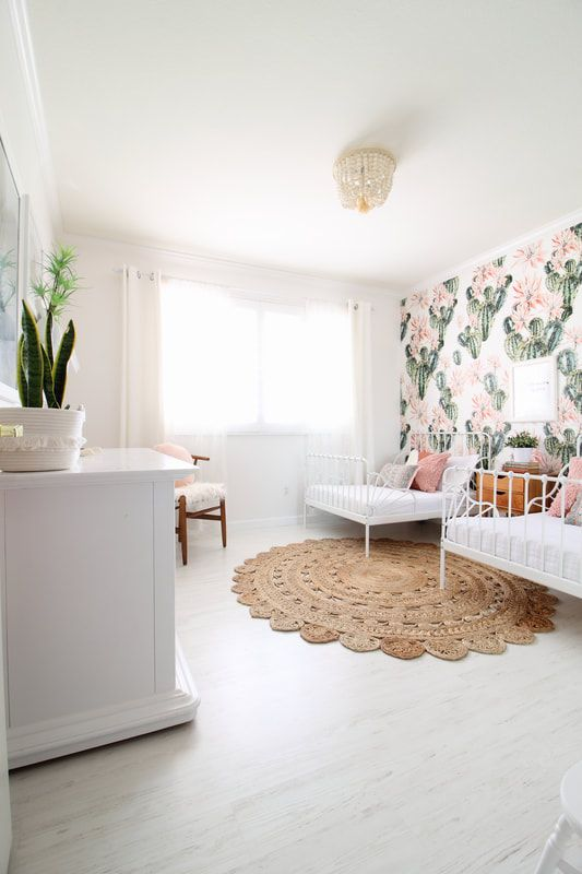 Cactus Room....a Shared Girls Room Design!