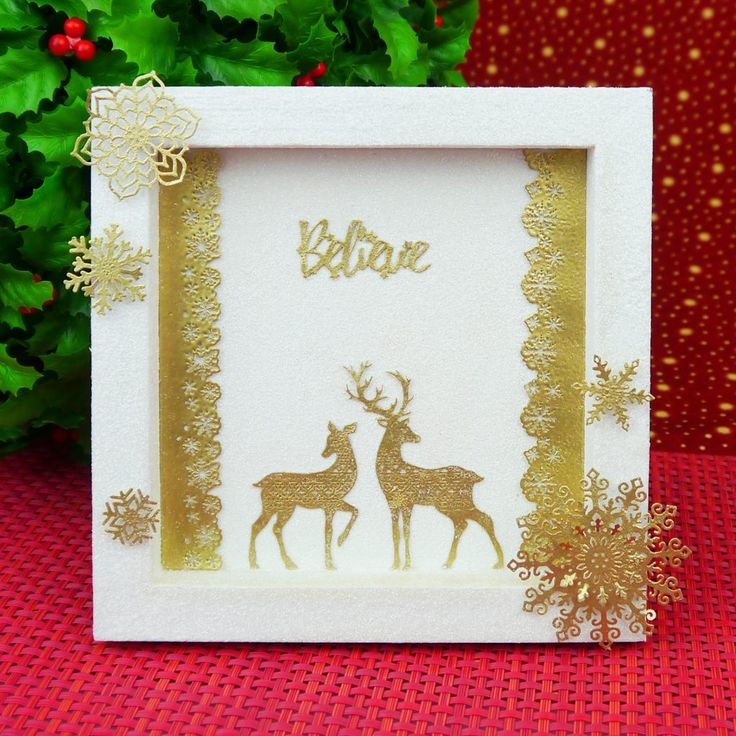 Stylish Silhouettes - White Christmas - Hunkydory | Hunkydory Crafts