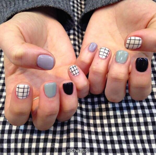 Love this Nail style.  #nailstyle