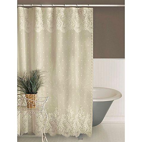 Heritage Lace Floret Shower Curtain