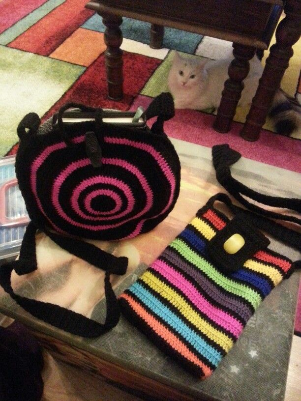 Crochet bags DIY