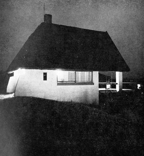 György Szrogh, Holiday Home, Szigliget, 1975.