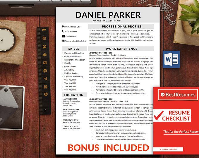 The 25 best simple resume template ideas on pinterest resume modern resume template resume template word clean resume template simple resume cv yelopaper Image collections