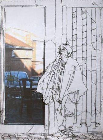 Rosie James, UK textile artist                                                                                                                                                                                 More