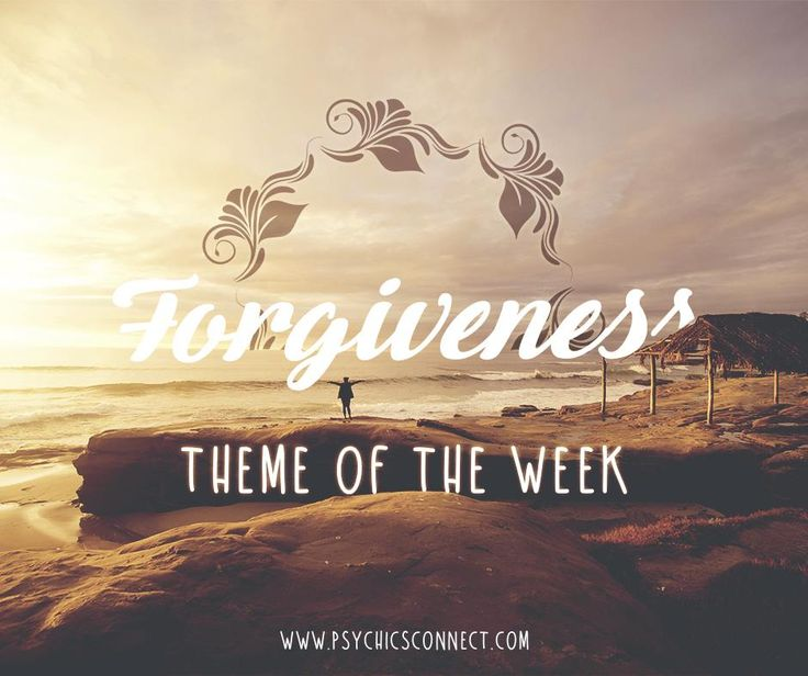 Forgiving someone who has hurt you is easier said than done. It is more natural to feel upset, or angry – especially if you feel that you have been betrayed or taken advantage of. Remember that forgiveness is not about giving that person an easy way out. Forgiveness is putting an end to your suffering so that you can move forward in your life. Happy Monday!