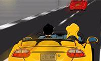 nice Rush Voiture Rush voiture en ligne et gratuit sur jeux de friv   jeux-defriv.com, Ce couple est dévale une route très fréquentée, dans un endroit frais convertibles...