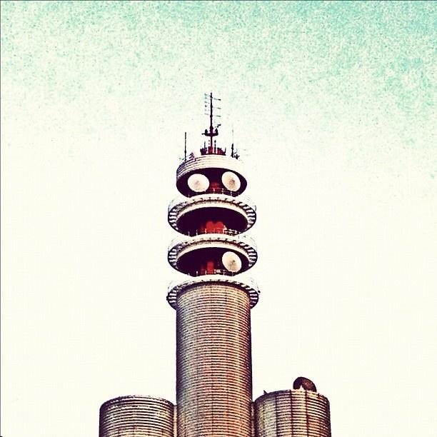 Bizarre radio tower in Chiyoda-ku, Tokyo