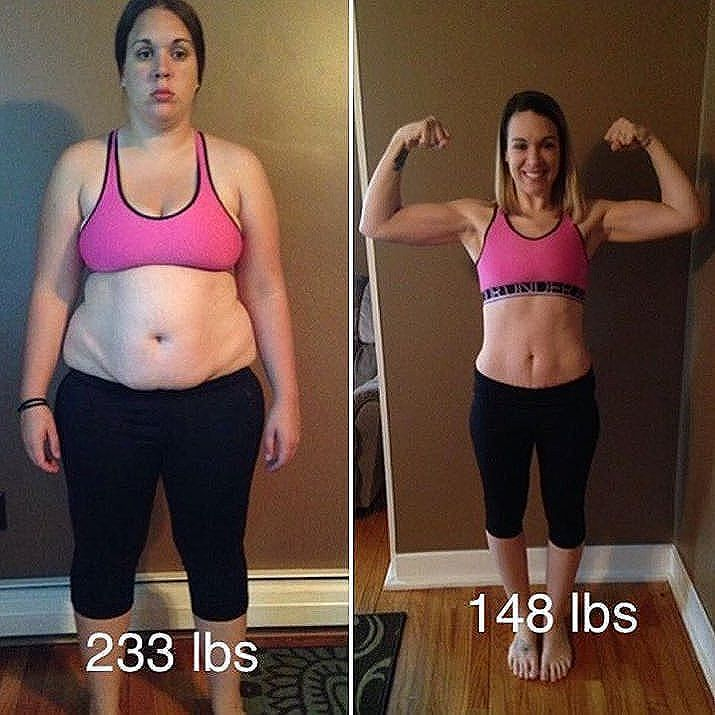 Before And After Weightloss Inspiration Want To Make A Fitness Transformation Like This Read
