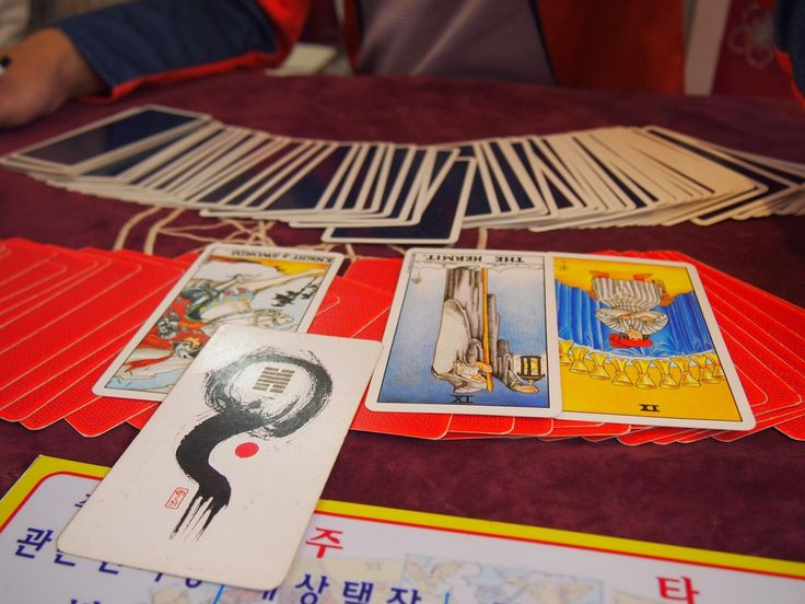 let's get our tarot cards read