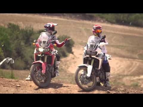 Marc Marquez Ride the new Honda CRF1000L Africa Twin