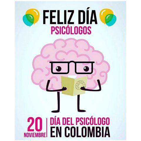 Resultado de imagen para feliz día del psicologo en colombia