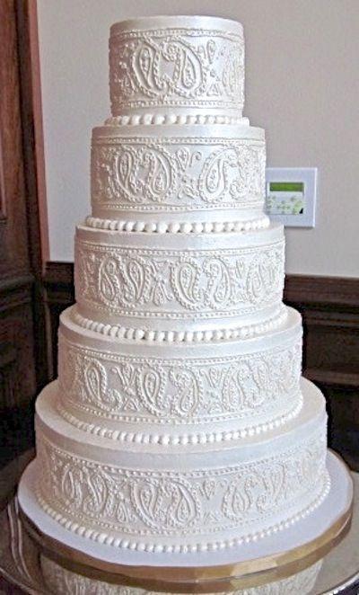36 best Buttercream Wedding Cakes images on Pinterest