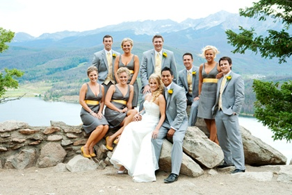 bridal party: Galleries, July Afflerbaugh, Photo Ideas, Www Julieafflerbaugh Com, Bridesmaid Dresses, Grey Yellow, Pictures, Afflerbaugh Photography, Bridal Parties