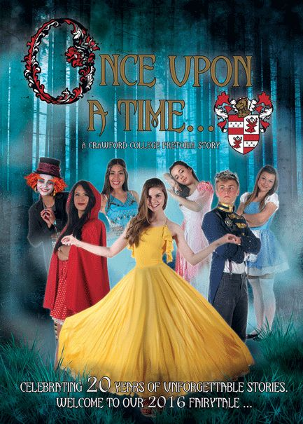 Fairy Tale Yearbook Theme: Front Cover