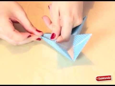 Diy dawanda estrellas de papel para decorar el rbol de - Estrellas de papel ...