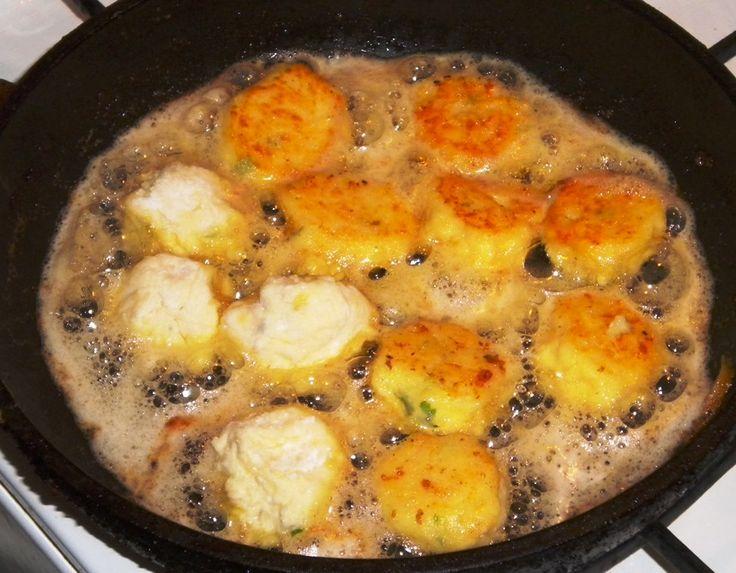 Rántott burgonya burgonyapüréből (kb. 15 perc)