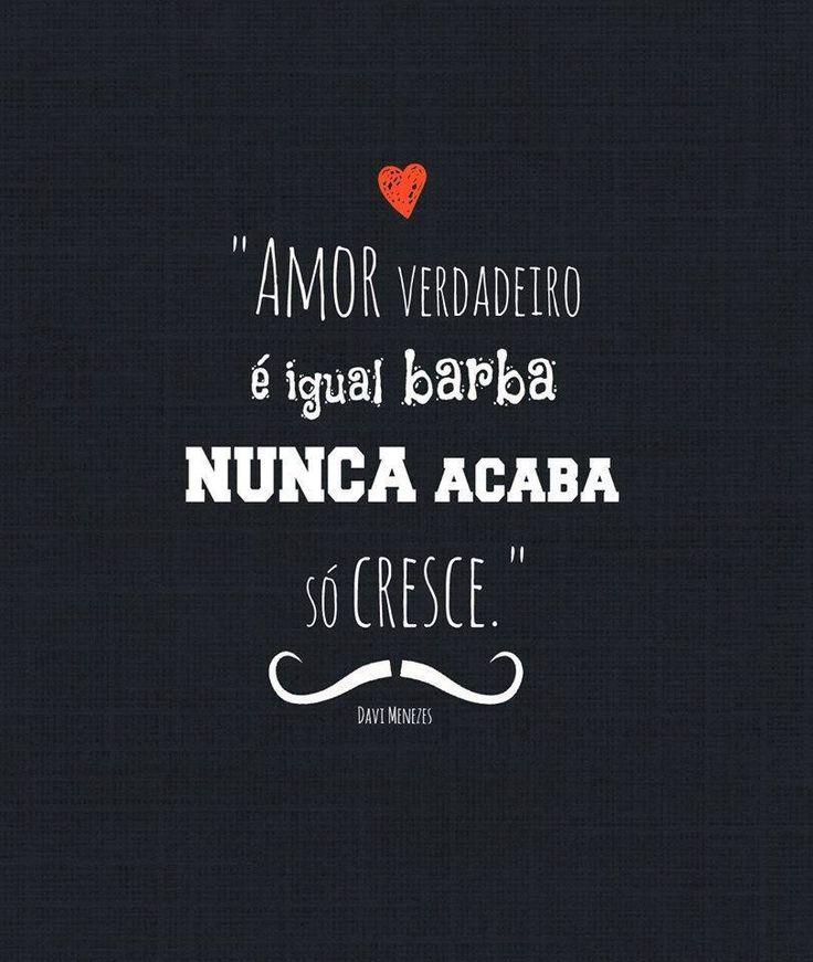 Amor verdadeiro só cresce ♡