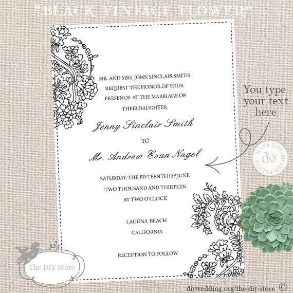 22 best Wedding Invitations images on Pinterest Weddings - best of wedding invitation maker laguna