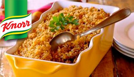 KNORR: Beef, Carrot and Lentil Crumble