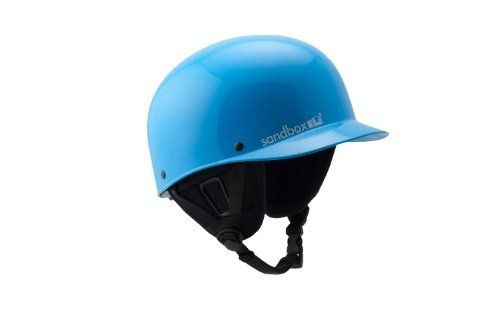 Sandbox Classic Helmet (Large/X-Large, Blue) by SANDBOX. $71.96. CLASSIC - NOT TOO SHORT OR TOO LONG, SANDBOX'S CLASSIC BRIM STYLE IS PERFECTLY SIZED, PERFECTLY FUNCTIONAL, AND LET'S BE HONEST, IT LOOKS TOO DAMN GOOD ON YOU FOR US TO DARE CHANGE IT.
