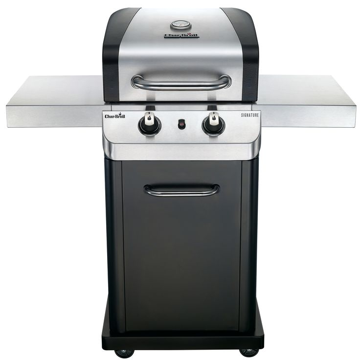 Signature 2-Burner Propane Gas Grill with Cabinet