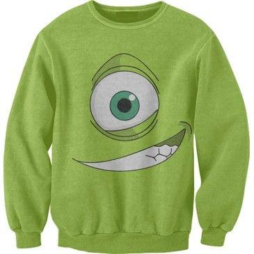 mike wazowski .. funny sweatshirt