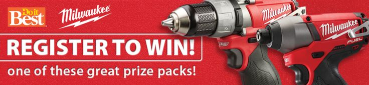 Stay tuned for our next giveaway with Milwaukee Tools!